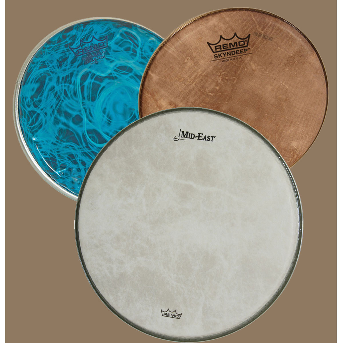 Drum Heads by REMO