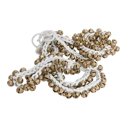 Mid-East 5/8 Inch Ankle Bells Brass 100 on Cord Pair