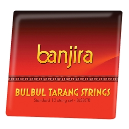 banjira Bulbul Tarang 10 String Set Loop End BJSBLTR