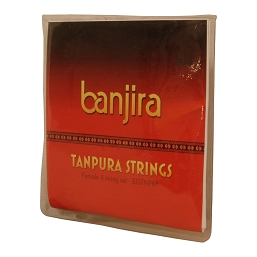 banjira Tanpura Female 4 String Set Loop End
