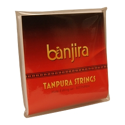 banjira Tanpura Male 4 String Set Loop End
