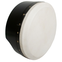 Roosebeck 13 x 5'' Bodhrán NEW Tunable Plywood Black +Tipper Cipin