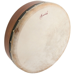 Roosebeck 14 x 3.5 Inch Bodhrán Cross Bar Fixed Head +Tipper Cipin