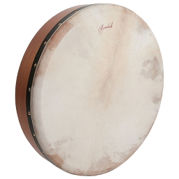 Roosebeck 18 x 3.5 Inch Bodhrán Cross Bar Goatskin Red Cedar + Tipper Cipin