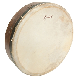 Roosebeck 14 Inch Bodhrán Cross-Bar Tunable + Tipper Cipin + Wrench
