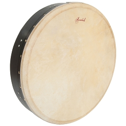 Roosebeck 18 x 3.5 Inch Bolt Tune Bodhrán Single Bar Black