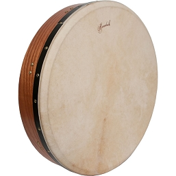 Roosebeck 18 Inch Bodhrán Double Natural Head Cedar + Tipper Cipin + Wrench