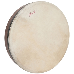 Roosebeck Bodhrán Tunable Sheesham Cross-Bar Double-Layer Head 18-by-3.5 Inch