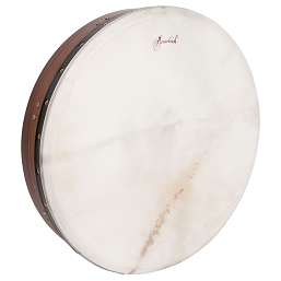 Roosebeck Bodhrán Tunable Sheesham Cross-Bar Soft Natural Head 18-by-3.5 Inch