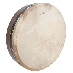 Roosebeck 18 x 4 Inch Bodhrán Single Bar Bolt Tune Sheesham