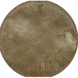 Mid-East 14 Inch Natural Calfskin Drum Head Thin