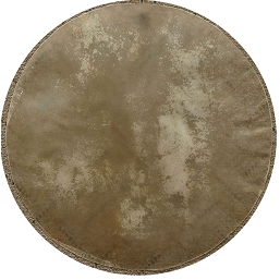 Mid-East 16 Inch Natural Calfskin Drum Head Medium