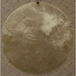 Mid-East 22 Inch Natural Calfskin Drum Head Thick
