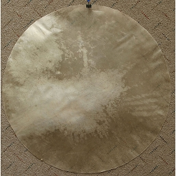Mid-East 26 Inch Natural Calfskin Drum Head Thick CF26 TK