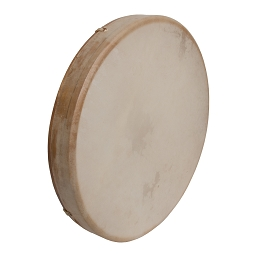 DOBANI 16 Inch Frame Drum Tunable Goatskin Head Wooden + Beater