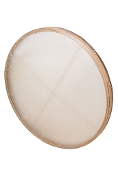 DOBANI 38 Inch Frame Drum Goatskin Head Tunable + Beater