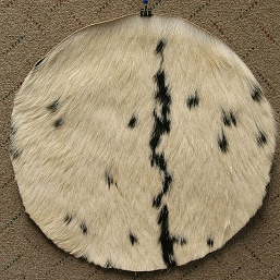 Goatskin with Hair 18 Inch Thick