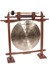 DOBANI 10 Inch Wind Gong + Pedestal Stand GSCR10W