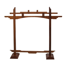 DOBANI Gong Stand Arched Sheesham for up to 22 Inch Gong