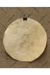 Mid-East Natural Goatskin Drum Head 8 Inch Thick