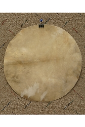 Mid-East Natural Goatskin Drum Head 12 Inch Thin