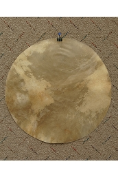 Mid-East 16 Inch Natural Goatskin Drum Head Thick GT16-TK