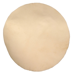 Mid-East Natural White Goatskin Head 18 Inch Thick