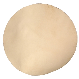 Mid-East Natural White Goatskin Head 26 Inch Thick
