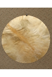 Mid-East Natural Goatskin Drum Head 30 Inch Thick