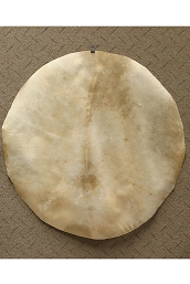 Mid-East Natural Goatskin Drum Head 36 Inch Thick