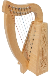 Roosebeck Lily Harp 8 String Lacewood