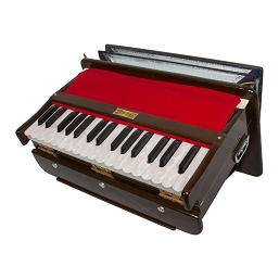 banjira Dulcetina Harmonium Portable Brown + Padded Case B
