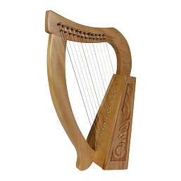 Roosebeck Baby Harp™12 String Lacewood + Extra String Set + Tuning Tool