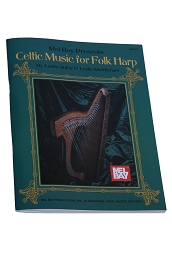 Mel Bay's Celtic Music Folk Harp Book Riley + McMichael