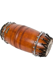 RohanRhythm 24 x 11 Inch Mridangam 2 Head High Pitch Jackwood Shell
