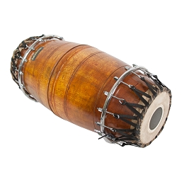 RohanRhythm Mridangam 2 Head Low Pitch Jackwood Shell