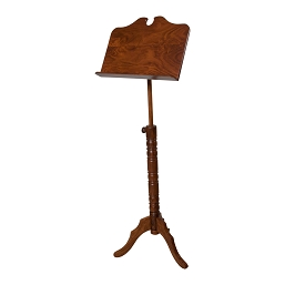 Roosebeck 66 Inch Music Stand Adjustable 1 Tray Boston Style