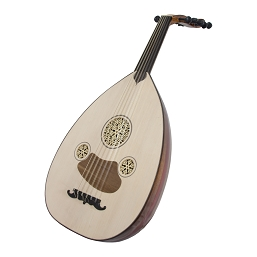 Mid-East 32 Inch Turkish Oud Walnut Padouk + Gig Bag OUDT