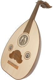 Mid-East Arabic Oud 11 String Walnut + Gig Bag