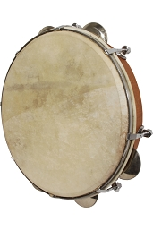 Mid-East 10 Inch Pandeiro Red Cedar Tunable