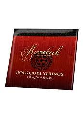 Roosebeck Bouzouki 8 String Set Steel + Wound Loop End