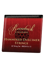 Roosebeck .018 16/15 Hammered Dulcimer 50 String Set