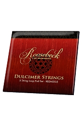 Roosebeck Mountain Dulcimer 5 String Set Loop End RBSMD5LE
