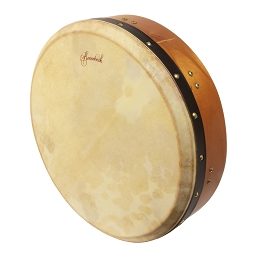Mid-East 14 Inch Tar Tunable Goatskin Head Red Cedar Frame