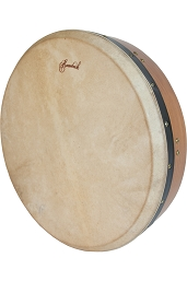 Mid-East 16 Inch Tar Tunable Goatskin Head Red Cedar Frame