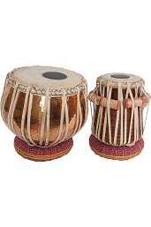 banjira Pro Tabla Set Strap Tune Copper Bayan 5.25
