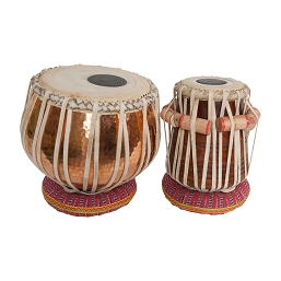 banjira Pro Tabla Set Strap Tune Copper Bayan 5.50