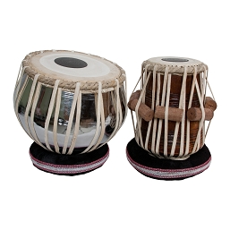 banjira Pro Tabla Set Strap Tune Brass Bayan + 5.5