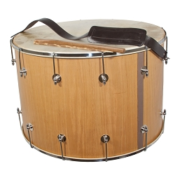 Mid-East 26 Inch Tupan Davul Drum Bolt Tune + Beaters