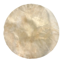 MRC 18 inch Diameter Natural Calfskin Drum Head 9 mil = Medium